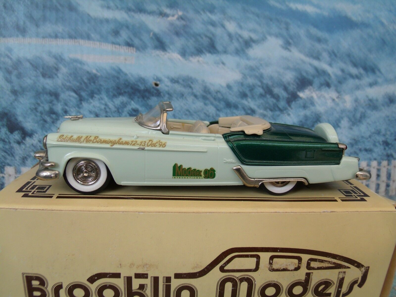 1 43 Brooklin models  1953 Oldsmobile Fiesta Modelex 1996 BRK39x  white metal