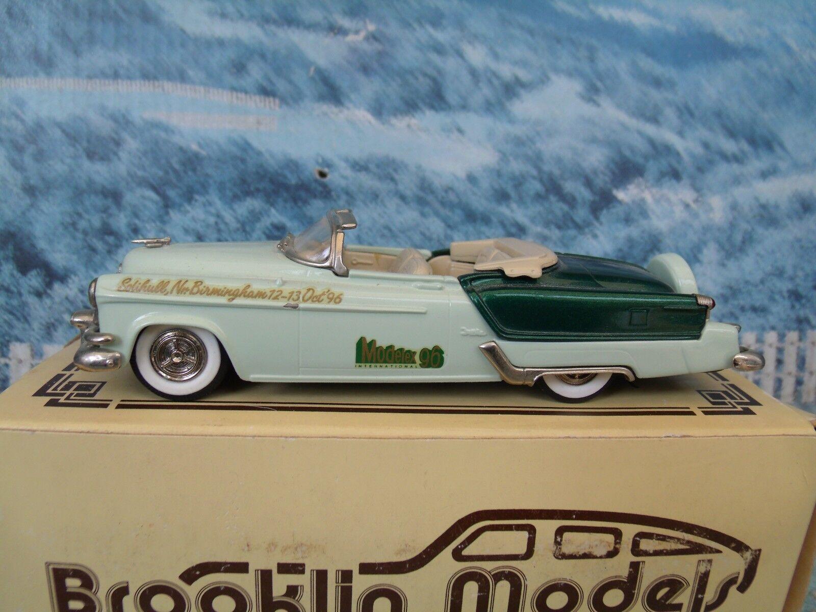 migliore qualità 1 43 Brooklin modellolos  1953 1953 1953 Oldsmobile Fiesta modelloex 1996 BRK39x  bianca metal  nuova esclusiva di fascia alta