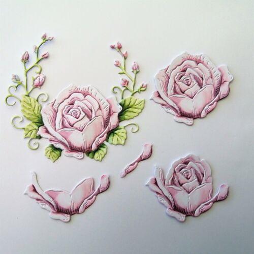 Carnation Crafts dado corta recuerdo Rose Toppers Crafts