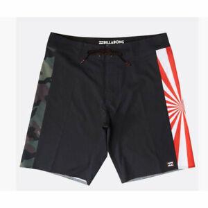Billabong-Dbah-Ai-Andy-Irons-Boardshorts-Bkack-2019-New-Costume-Surf-30-32-33-34