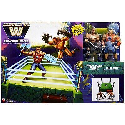 Walmart WWE exclusives maîtres de la WWE univers Grayskull Mania Bundle Cena