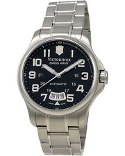 VICTORINOX SWISS ARMY - Army Officer Black Dial Men's Watch - 241370