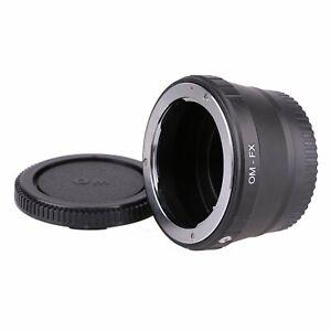 Olympus-OM-Lens-to-Fujifilm-X-Mount-Fuji-X-Pro-1-X-E1-Camera-Adapter-Ring-2caps