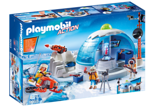 Playmobil 9055 - Arctic Expedition Headquarters - NEW