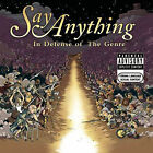 In Defense of the Genre [PA] by Say Anything (CD, Oct-2007, 2 Discs, J Records)