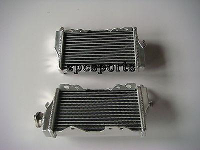 Brand New Aluminum Radiator Pair for Honda CR250/CR-250/CR250R 2002-04 03 02