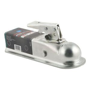 Boat-Trailer-Bolt-On-COUPLER-Hitch-2-034-ball-2-034-Frame-Zinc-Plated-3-500-Lbs-Cap