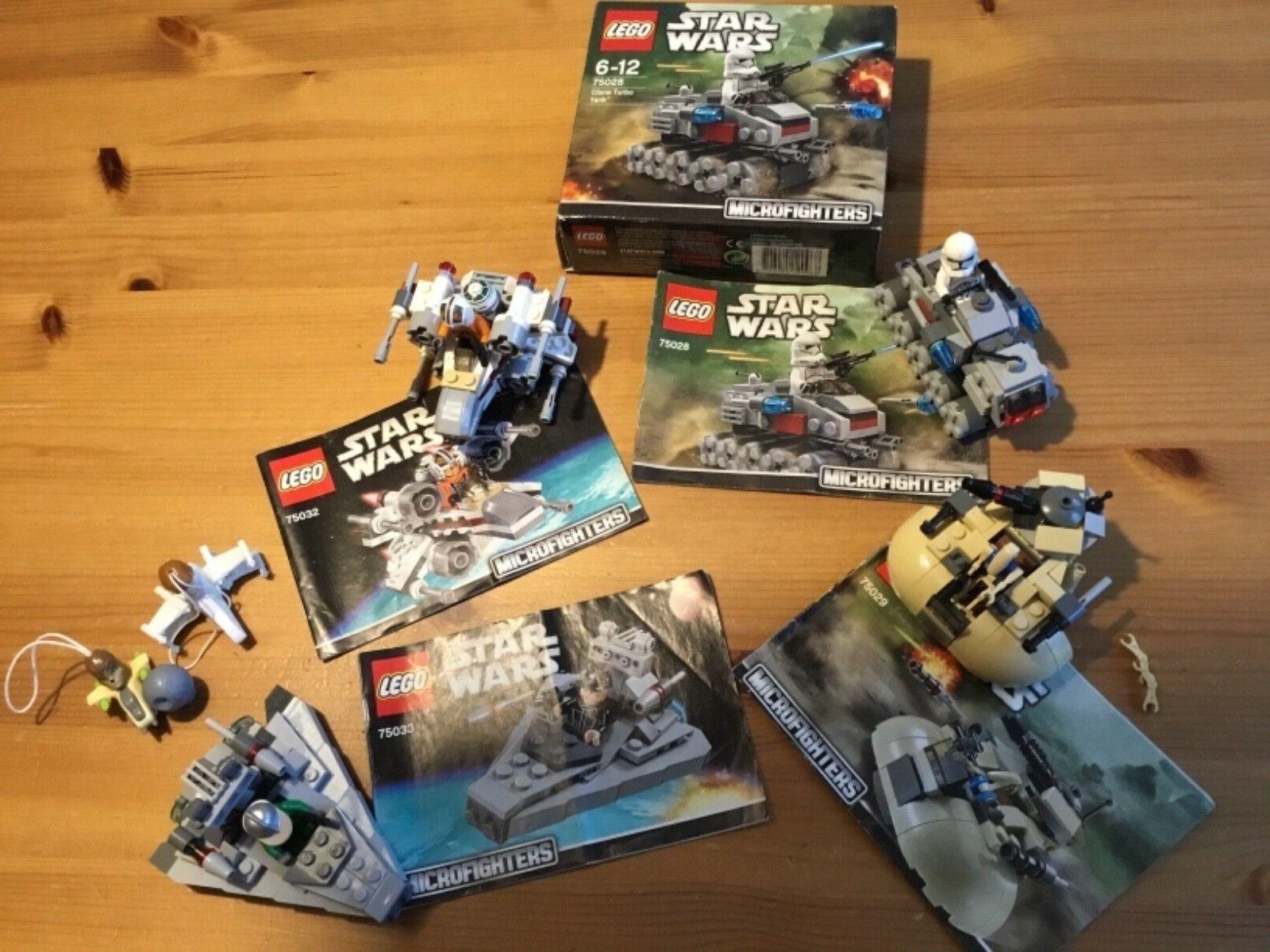 Star Wars Lego 75032 75033 75029 75028