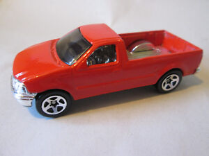 Details About 1996 Hot Wheels 1997 Ford F 150 Pickup Truck Malaysia Cherry Red 1 64 Mint