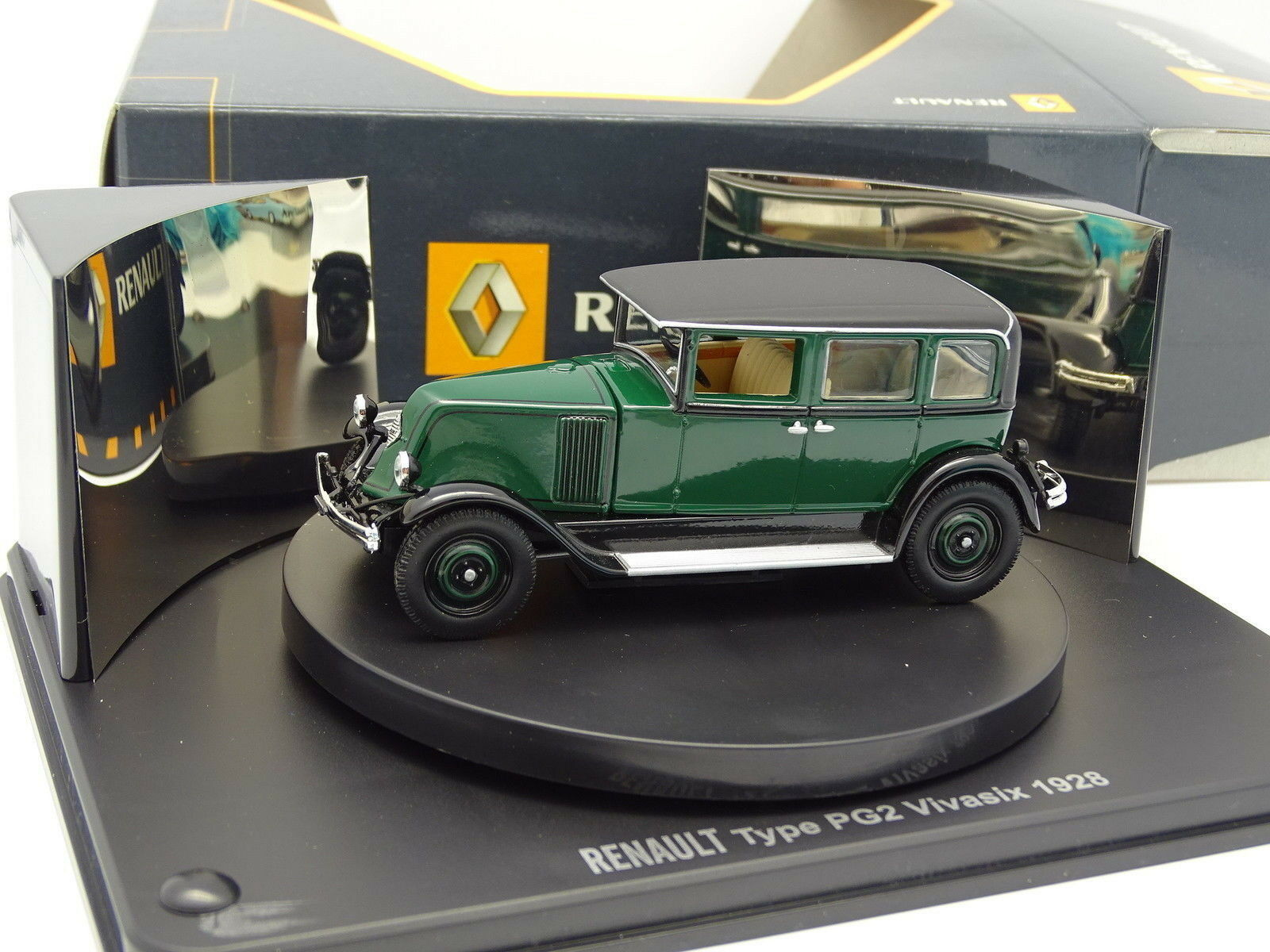 Norev 1 43 - Renault Type PG2 Vivasix 1928 verte