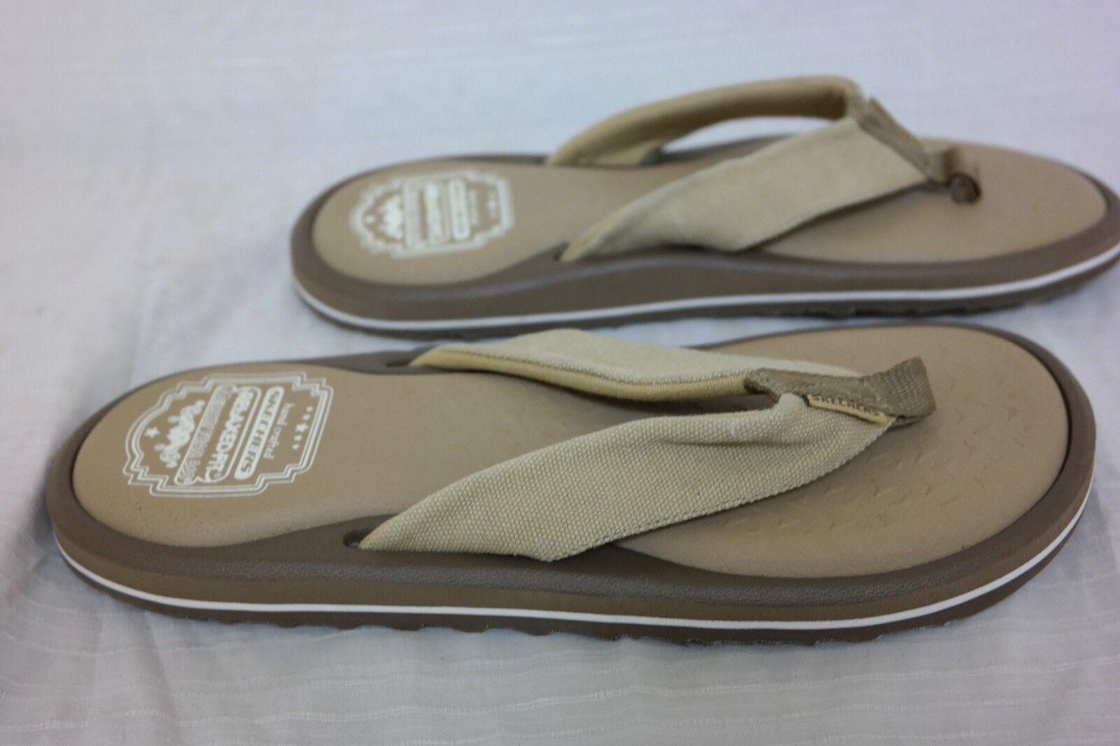New! Men's RELAXED FIT: TANTRIC - NOWEN Flip Flop SN 64483  Brown/Tan F51 Seasonal clearance sale