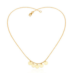 Coins-Design-18k-Yellow-Gold-Plated-Handmade-925-Silver-Necklace-Jewelry