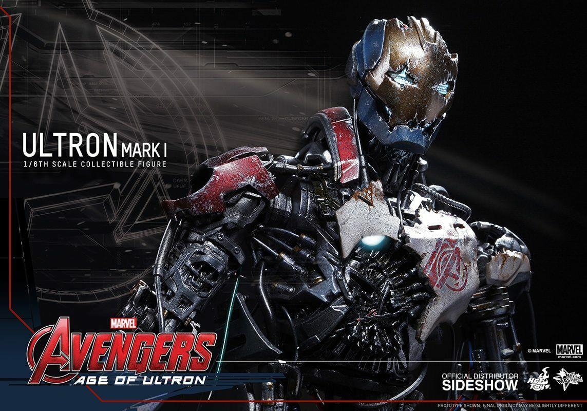 """HOT TOYS – AVENGERS """"AGE OF ULTRON"""" – Ultron Mark 1 – Movie Masterpiece series"""