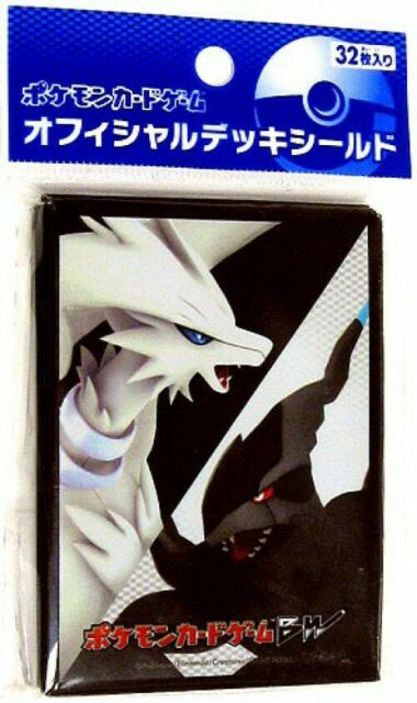 Pokemon Official Black /& White Zekrom Reshiram Card Sleeves 64 pcs