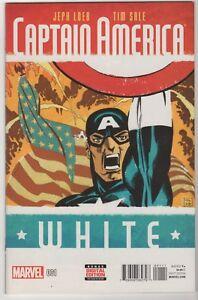 Captain-America-White-1-through-5-LOT-5-set-Loeb-Tim-Sale-Marvel-2015-16-VF