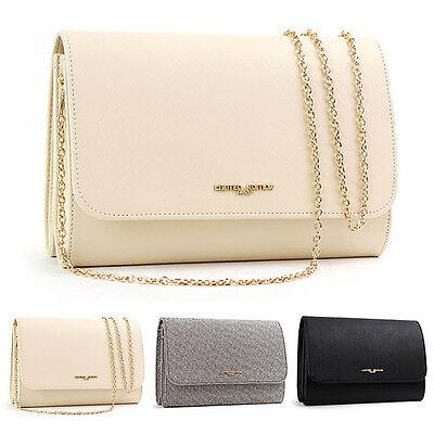 Womens Fashion Clutch Handbag Crossbody Evening Bag Purse Messenger Shoulder Bag