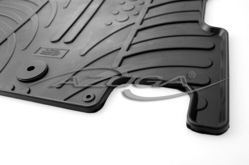 Tappetini in gomma per Nissan Qashqai anno a partire dal 2//2014 IN GOMMA-TAPPETINI CON PNEUMATICI Clip-Design