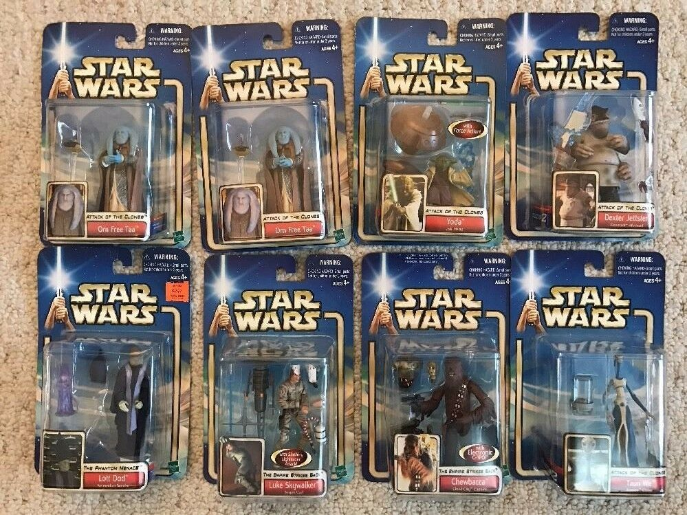 Lot of 11  Star Wars COLLECTION Action Figures
