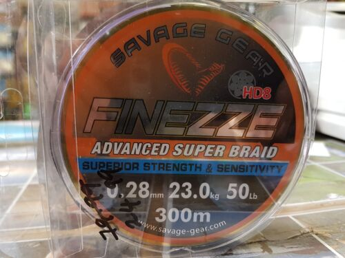 Savage Gear Finezze Advanced Super Braid 50lb 300m