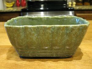 Vintage Brush Pottery Rectangular Planter