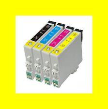 4 COMP. CARTUCCE PER EPSON STYLUS d68 d88 dx3850 dx4200 dx4250 ERS. t0615 B-Ware