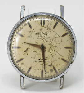Orologio-Belfont-mechanic-watch-vintage-caliber-gsw-40-41-clock-montre-horloge