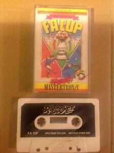 2019 Nouveau Style Fa Cup. Amstrad/spectre Vintage Rétro Cassette. Sinclair-um Vintage Retro Cassette. Sinclair Fr-fr Afficher Le Titre D'origine Le Plus Grand Confort