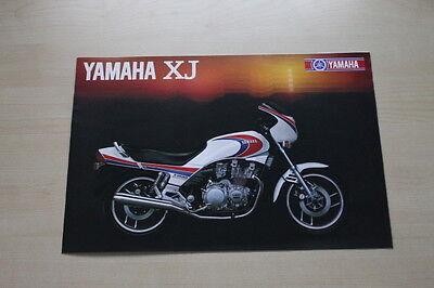 Parts & Accessories Sales Brochures Yamaha Xj 900 750 650 550 T Prospekt 1983 Humor 165254