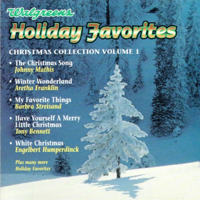 Walgreens Holiday Favorites CD