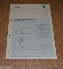 Einbauanleitung Eberspächer Aufrüstung Standheizung D 5 W Z für Ford Mondeo