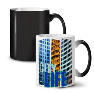City Life Novelty NEW Colour Changing Tea Coffee Mug 11 oz | Wellcoda