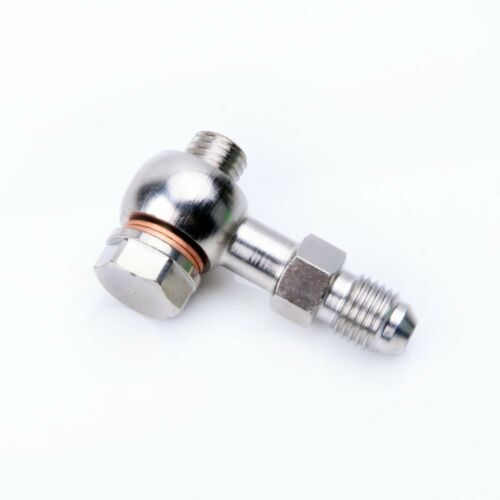 Kinugawa Turbo M10 x 1.25 mm Banjo Bolt Kit to 4AN Oil Feed For TD04 TD05 TD06