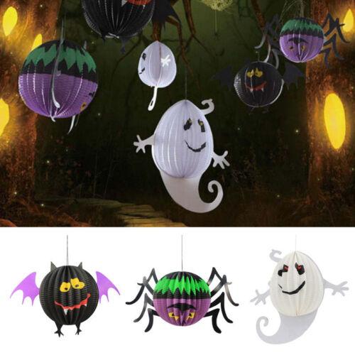 Papier Hängend Laterne Halloween Raumdeko Mauer Dekoration Partei Deko-DIY*
