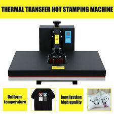 Used 16x 24 Heat Press Machine Digital Transfer Sublimation Diy T Shirt