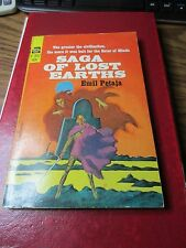 1966 Saga of Lost Earths by Emil Petaja