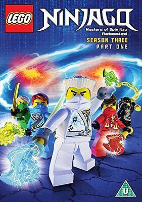 Lego Ninjago - Masters Of Spinjitzu: Season 3 - Part 1 (DVD) (C-U)