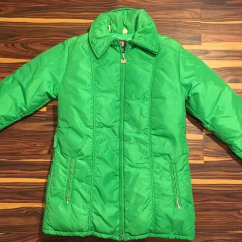 Euc Ski Green Designs Goose Usa Coat Puffer Vintage Alpine Jacket Down RHqgwaa