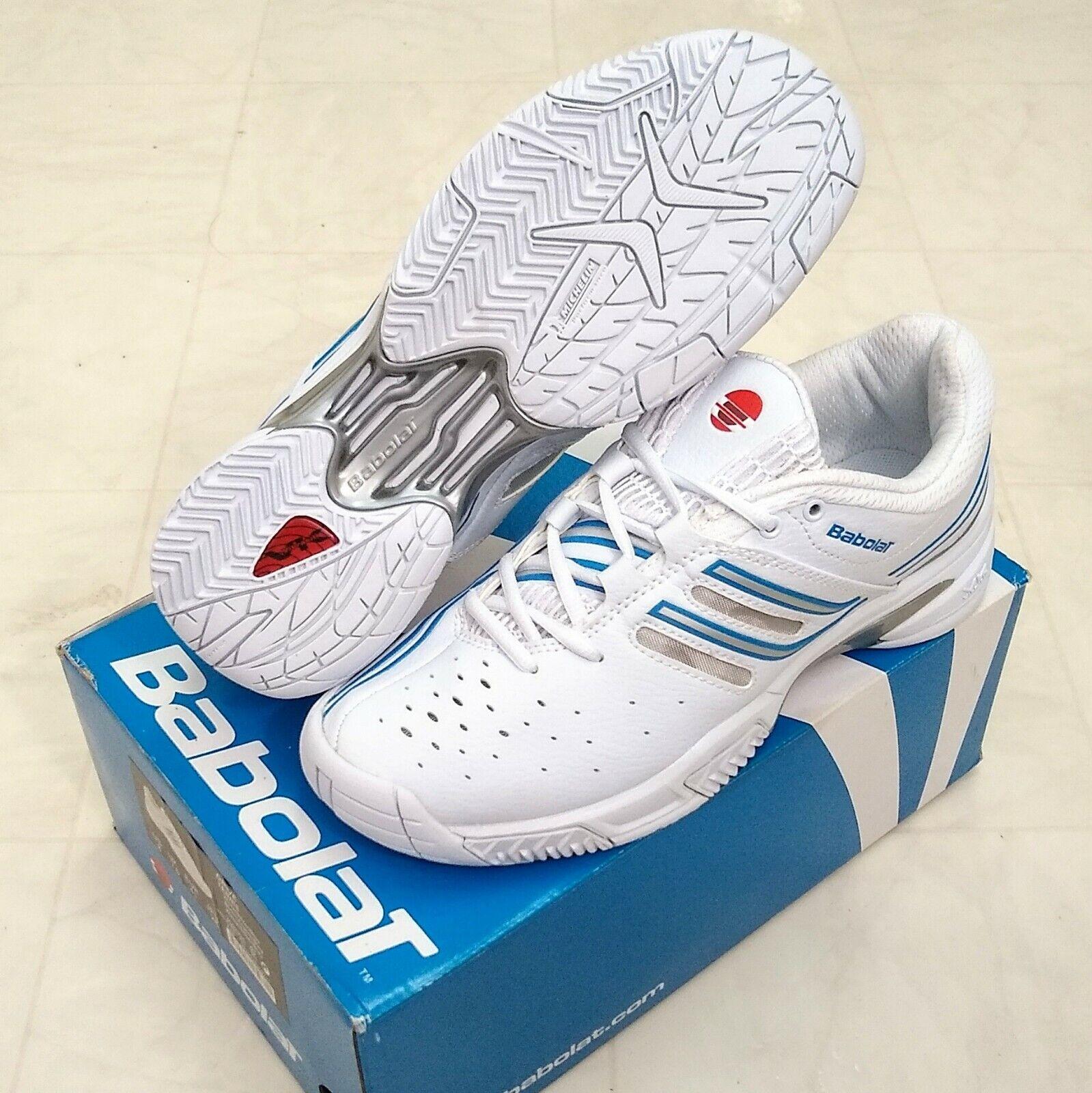 Mens Babolat Drive Tennis Shoes White