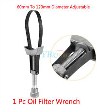 1x Car Oil Filter Removal Tool Strap Wrench Diameter Adjustable 60mm To 120mm AP