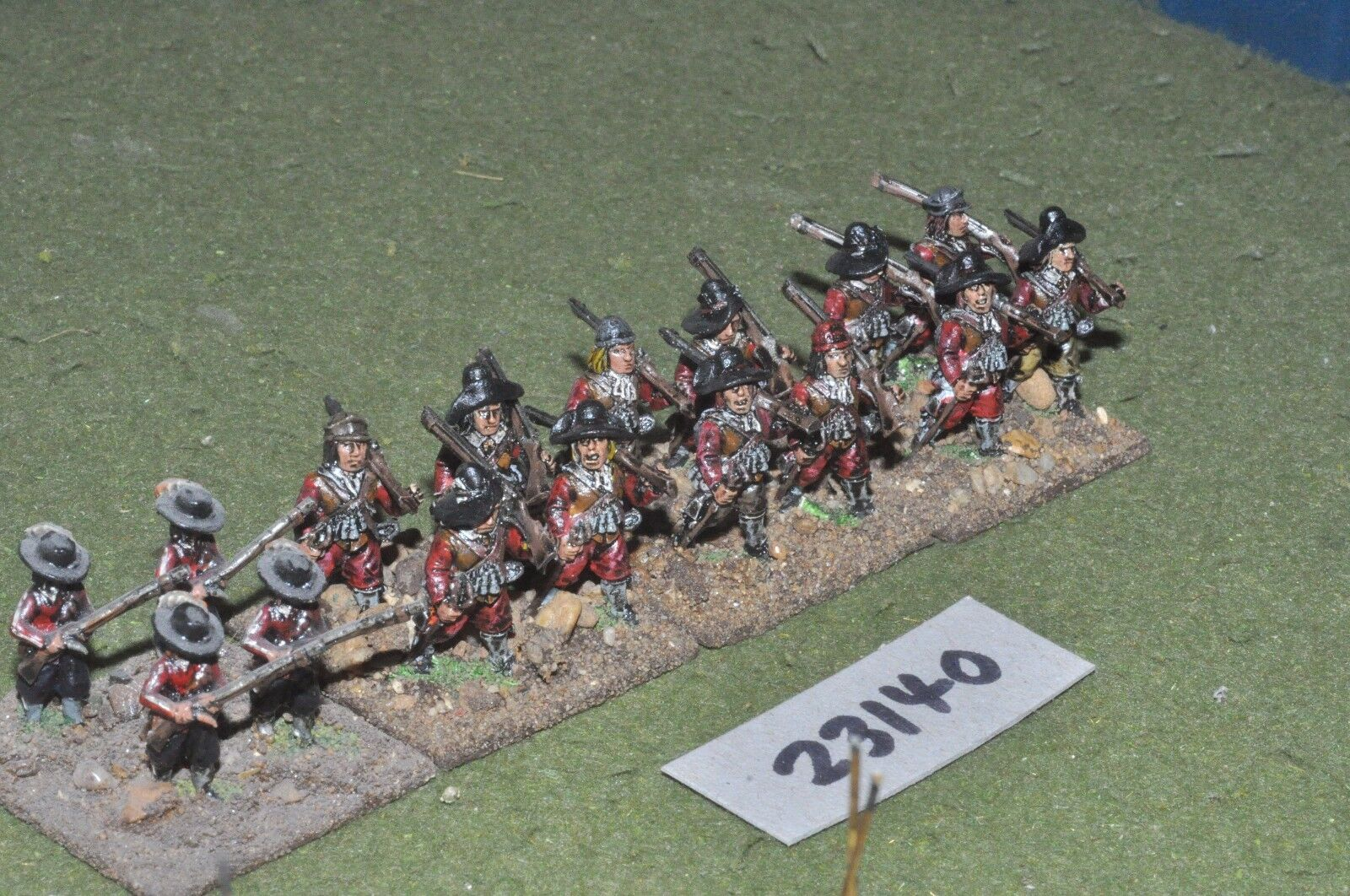 25mm ECW   parliament - pike & shot 16 figures - inf (23140)