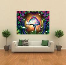 MAGIC FUNGHI Trippy NUOVO GIANT POSTER WALL ART PRINT PICTURE G158