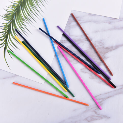 1Box 2.0mm Colored Mechanical Pencil Refill Lead Erasable Student Stationary OD