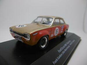 RACING-FORD-ESCORT-Mk1-Twin-Cam-1968-Frank-Gardner-auto-modello-1-43-SCALA-ref-GJ