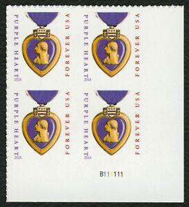 #5035 Violeta Corazón, Placa Bloque [B111111 LR ], Nuevo Cualquier 5=
