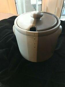 McCoy Pottery Sandstone 1978 Soup Tureen w/ Lid 1420L