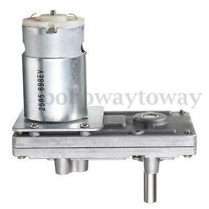 TAKANAWA-RS-555-metal-gear-motor-12V-24V-DC-Getriebemotor-high-torque-low-noise