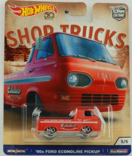 1:64 Hot Wheels Shop trucks Car Culture 60 ford econline
