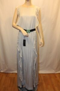 NEW-BCBG-LIGHT-DOVE-SLEEVELESS-EVENING-GOWN-SIZE-S