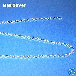 10 feet Sterling Silver 925 1.2mm Diamond Cut BALL Bulk Continuous CHAIN