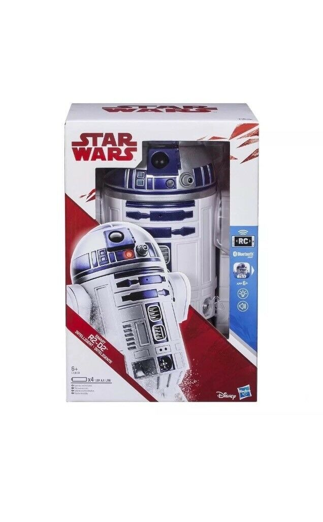 Star Wars Smart App Enabled R2-D2 blueetooth iPhone Android RC Robot R2D2 Hasbro